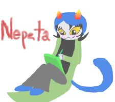 Nepeta Colored by EpicalIggy