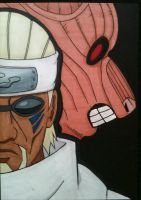 Eight Tails Killer Bee by NaruNeji