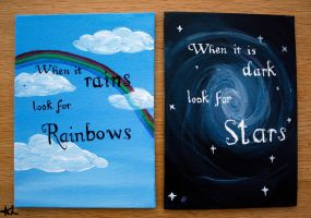 Rainbows and Stars by Chinquary