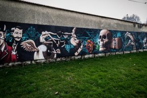 Street art can be nice too by Mikerhinos