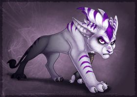 -- Feral - l o u i s e-- by JezzKitty