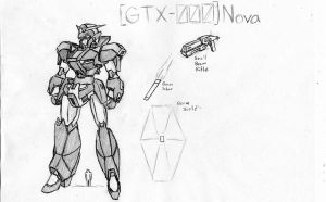 GTX-000 Nova Gundam by Linkinpark30101