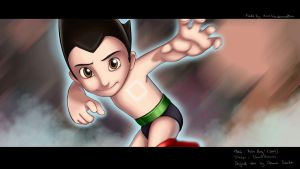 Astro Boy by NikiVandermosten