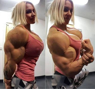 Heidi Super Muscled by Turbo99