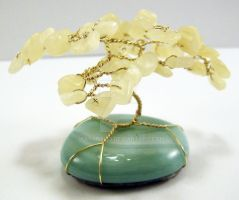 Gemstone Tree - Yellow Opal by taarna-23