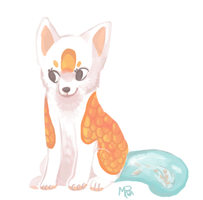 Koi Lineless Redraw by Magicpawed
