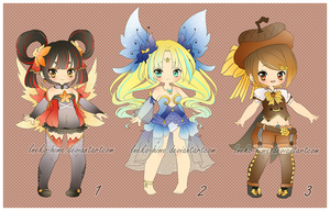 .[Closed]~Nature Girls Adopt. by lNeko-Hime