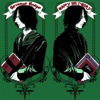 Happy Birthday Professor snape by JamesTheShark