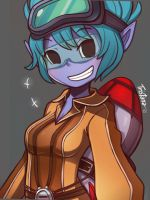 Tristana Rocket Girl by LataeDelan