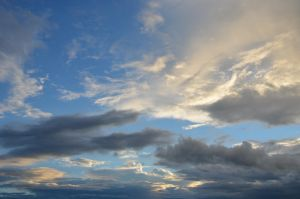 evening sky VI by mimose-stock