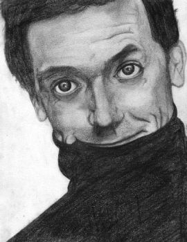 Hugh Laurie by skellington-