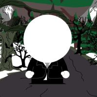 Slenderman South Park by coliegren02