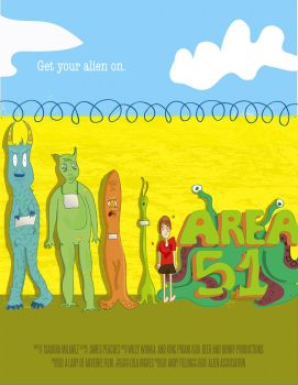 Area 51 Poster by awesomeisa