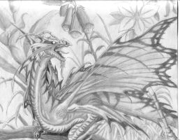 Dragon Le Fey by fantomdragon