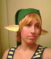 Me cosplaying as Link by Linkfan007