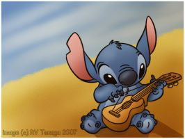 Stitch_Wallpaper by Tenaga