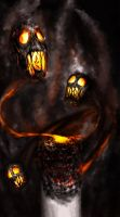 Smoke Demon (The Make Ugly Contest) by Tuneli