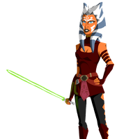 Padawan Ahsoka Tano by PurpleRAGE9205