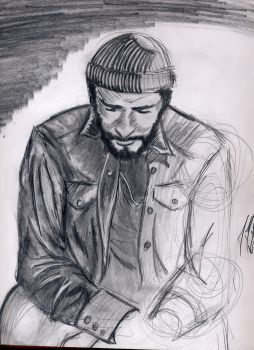 Marvin Gaye study by DAnemisis2002