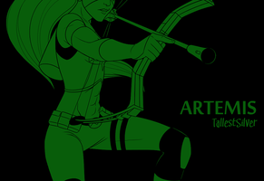 Artemis by AnArtistCalledRed