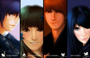 fruits basket poster by hpslashlover