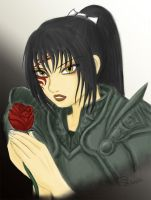 Alistair's Rose by ShainaOtori
