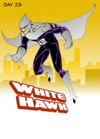 Day 23 White Hawk by wildcats25