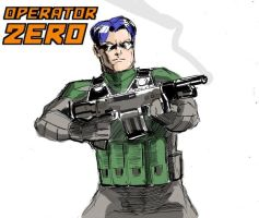 Operator Zero By Wildcats25 by CWilliamRussette
