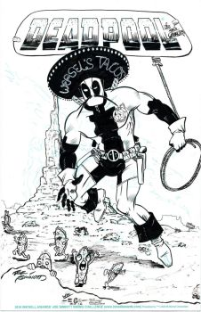 Deadpool Taco Wrangler - Sinnott - Egli - by SurfTiki