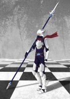 Chess: White Promoted Pawn (Knight Version) by TakemaKei