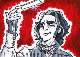 31Cards: Sweeney Todd by AtlantaJones