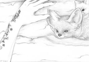 A Tattoo Idea and a Fennec by RaHxIlla-AziRaPhaLe