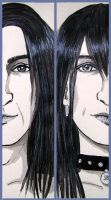 bookmarks - Snape and Black by vimessy