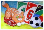 Sweet sixteen Uno card by Coccis