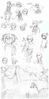 Mini sketch dump! With lots of ShitShit by kidann