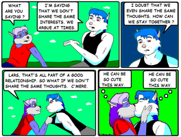 Forestburg Comic ; Relationship by AVRICCI