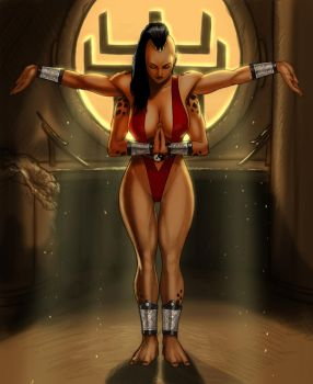 Sheeva wins Clothed by zakuman