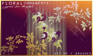 Floral Ornaments by agnesvanharper