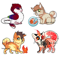 chibi batch 3 by foreign-potato