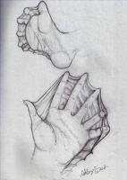 Webbed Hand and Foot by Ashley5ash