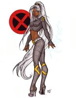 New X-men - Storm by CrimsonArtz
