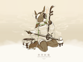Happy Chinese New Year of Goat by TysonTan