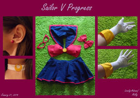Sailor V WIP by Lovely-Autumn