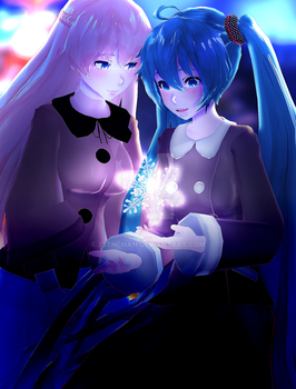 merry xmas | mmd by 23thchan