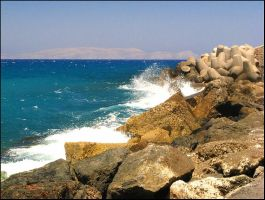 Greece - Waves by AgiVega