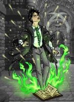 Tom Riddle's escape by JesIdres