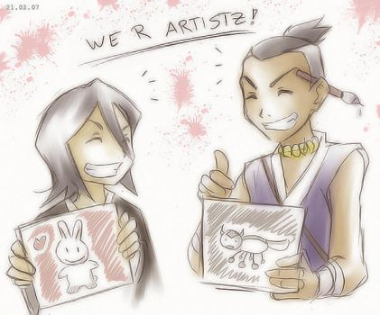 Avatar - Bleach - We r Artistz by sora-ko