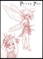 Peter Pan: Graphic Novel - Tinker Bell Design by RenaeDeLiz