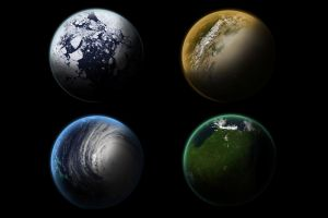 4 Planets Stock by dandimann46
