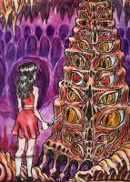 MEAT TOWER by quietsecrets